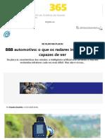 BBB automotivo_ o que os radares inteligentes são capazes de ver - Carro - iG