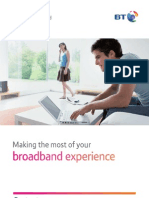 BT Total Broadband - Making the Most of Your Broadband Experience