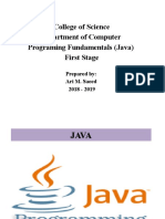 Java-Lecture-Note-1