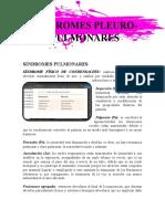 Síndromes PleuroPulmonares