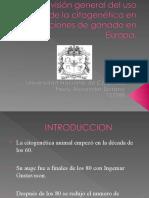 una vision gral de citogenetica en ganado en Europa Fredy Serrano II 2010