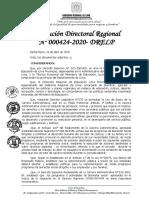 RDR N° 000424-2020-DRELP ALIMENTOS UGEL