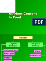 6.2 Nutrient Content of Food.ppt