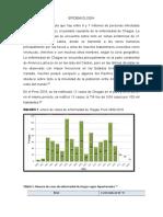 EPIDEMIOLOGÍA y cuadro clinico de enfermedad de chagas