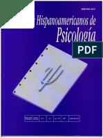 Cuadernos hispanoamericanos de psicología