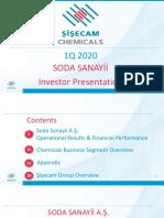 1. SODA 2020 Q1 IR Presentation
