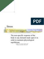 Stress Management - Updated