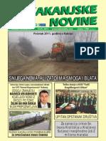 Kakanjske novine [broj 157, 15.1.2011]
