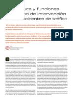 Estructura y funciones del equipo de intervención accidentes tráfico
