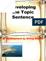developing-the-topic-sentence-grade-8