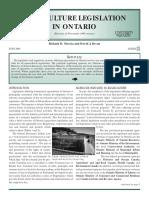 Aquaculture Legislation in Ontario.pdf