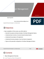 5G RAN2.0 Beam Management Huawei