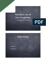 Facteurs carcinogénèse couleur  DCEM Novembre 2014.key