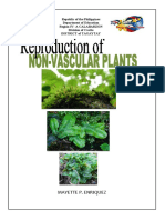 module in science 6- Reproduction of non-Vascular Plants