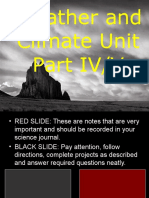 Weather and Climate Unit Part IV/VI for Educators - Download Powerpoint at www .science powerpoint .com