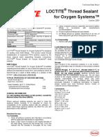 Oxygen System_Thread Sealant