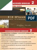 CONSIDERACIONES BÁSICAS  2