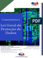 Regiane Martins dos Santos, Adriana Cristina França Leite de Carvalho (coords.) - Comentários à Lei Geral de Proteção de Dados-OAB São Paulo (2020).pdf