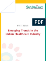 Emerging Trends in the Indian Healthcare Industry