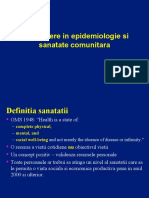 Curs 1 - Epidemiologie