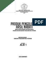 PRODUK PENGOLAHAN HASIL NABATI (XI)