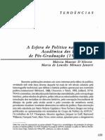 A esfera do político na produção acadêmica dos programas de pós-graduação_1985-1994_Maria de Lour.pdf