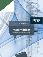 Matematicas Para Las Ciencias a - Steiner, Erich