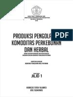PRODUKSI PENGOLAHAN PERKEBUNAN DAN HERBAL KLS XII