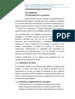 ESPECIFICACIONES TECNICAS - CULPON