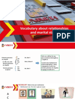 Vocabulary about relations and extended family (1)