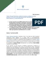 Stroke Therapy Revolution NOTA DE PRENSA.docx