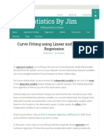 Curve Fitting using Linear and Nonlinear Regression - Statistics By Jim.pdf