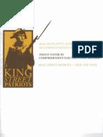 King Street Patriots True the Vote Legislative Agenda 2011