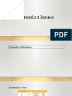 4 Regression Issues (1)