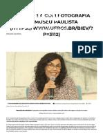 A pesquisa com fotografia no Museu Paulista