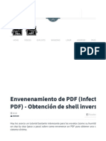 Envenenamiento de PDF (Infectando PDF) - Obtención de shell inversa - Hacking Land - Hack, Crack and Pentest.pdf