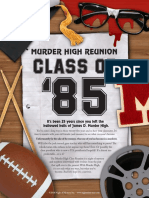MURDER HIGH REUNION CLASS OF. It s been 25 years since you left the hallowed halls of James D. Murder High..pdf