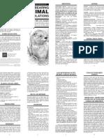 Texas Furbearer Regulations Pamphlet