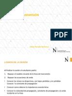 SEMANA 05 - LINEAS DE TRANSMISIÓN - UPN 2020 - 1
