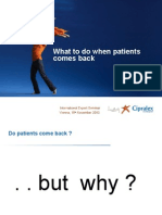 03 What to Do When Patients Come Back