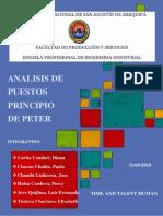 APLICACIÓN DEL PRINCIPIO DE PETER - TIME AND TALENT HUMAN
