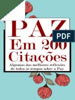 PAZ em 200 Citaes - E-book.pdf