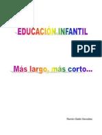 Microsoft Word - Infantil. Más largo, más corto.