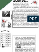 calendar scriitori romani