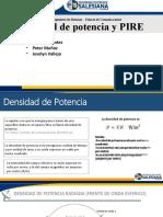 Densidad de potencia y PIREpptx - copia