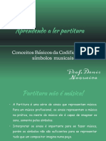 Aprendendo a ler Partitura - Prof Denis Nogueira
