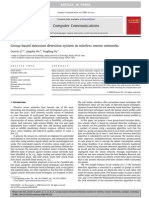 Group Based Ids in Wireless Sensor Networks