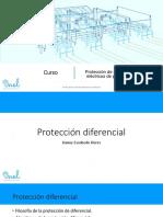 Protección diferencial de transformadores