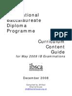Ib Results 2008