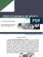 crisis economica de mexico